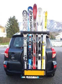 Tecma tecma porte ski porte ski 4x4 porte ski magnetique for Porte ski magnetique