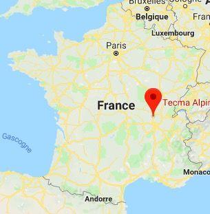 situation Tecma alpina en France