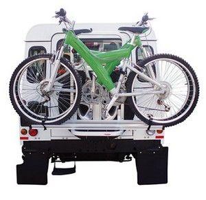 porte vélo gringo sur 4x4 Land Rover